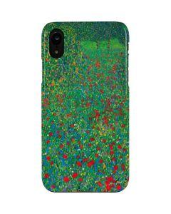 Poppy Field by Gustav Klimt iPhone XR Lite Case