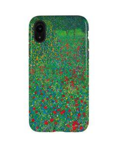 Poppy Field by Gustav Klimt iPhone XR Pro Case