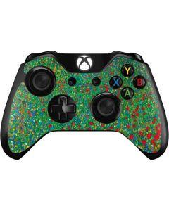 Poppy Field by Gustav Klimt Xbox One Controller Skin