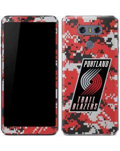 Portland Trail Blazers Digi Camo LG G6 Skin