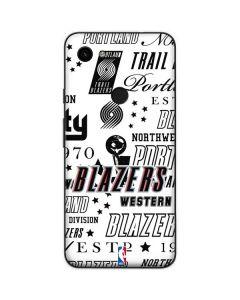 Portland Trail Blazers Historic Blast Google Pixel 3a Skin