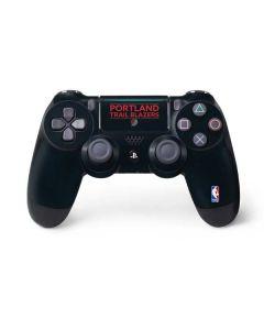 Portland Trail Blazers Standard - Black PS4 Pro/Slim Controller Skin