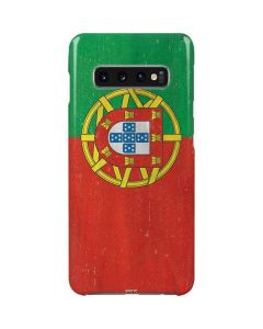 Portugal Flag Distressed Galaxy S10 Plus Lite Case