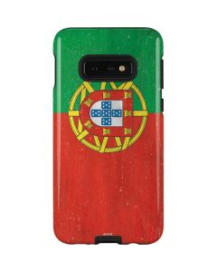 Portugal Flag Distressed Galaxy S10e Pro Case