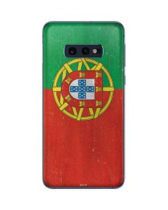 Portugal Flag Distressed Galaxy S10e Skin