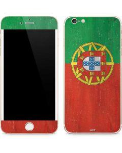 Portugal Flag Distressed iPhone 6/6s Plus Skin