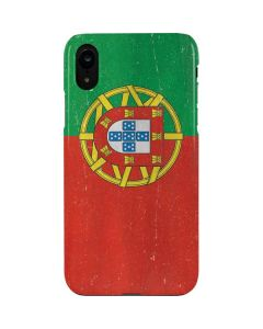 Portugal Flag Distressed iPhone XR Lite Case
