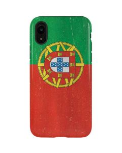 Portugal Flag Distressed iPhone XR Pro Case