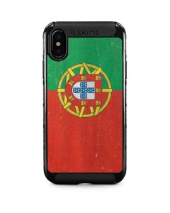Portugal Flag Distressed iPhone XS Cargo Case