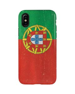 Portugal Flag Distressed iPhone XS Max Pro Case