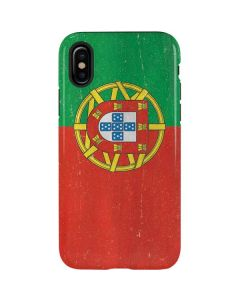 Portugal Flag Distressed iPhone XS Pro Case