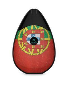 Portugal Flag Distressed Suorin Drop Vape Skin