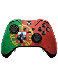Portugal Flag Distressed Xbox One Elite Controller Skin
