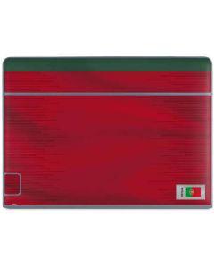 Portugal Soccer Flag Galaxy Book Keyboard Folio 10.6in Skin