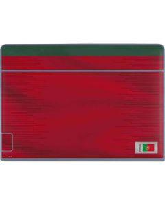 Portugal Soccer Flag Galaxy Book Keyboard Folio 12in Skin