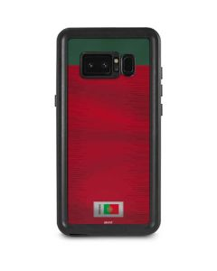 Portugal Soccer Flag Galaxy Note 8 Waterproof Case