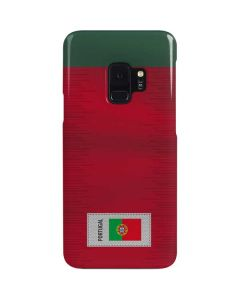 Portugal Soccer Flag Galaxy S9 Lite Case