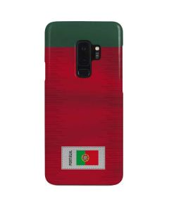 Portugal Soccer Flag Galaxy S9 Plus Lite Case