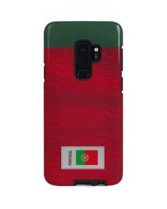 Portugal Soccer Flag Galaxy S9 Plus Pro Case