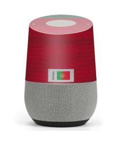 Portugal Soccer Flag Google Home Skin