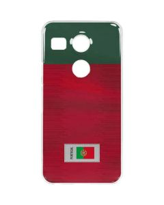 Portugal Soccer Flag Google Nexus 5X Clear Case