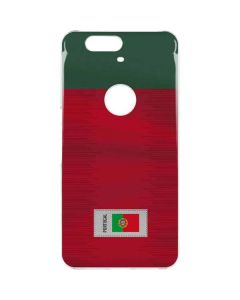Portugal Soccer Flag Google Nexus 6P Clear Case