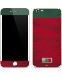 Portugal Soccer Flag iPhone 6/6s Plus Skin