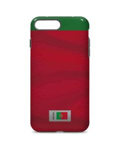 Portugal Soccer Flag iPhone 8 Plus Pro Case
