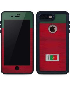 Portugal Soccer Flag iPhone 8 Plus Waterproof Case