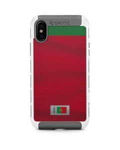 Portugal Soccer Flag iPhone X/XS Cargo Case