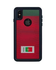 Portugal Soccer Flag iPhone X Waterproof Case