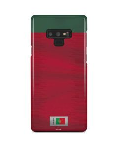 Portugal Soccer Flag Galaxy Note 9 Lite Case