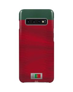 Portugal Soccer Flag Galaxy S10 Lite Case