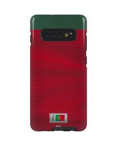 Portugal Soccer Flag Galaxy S10 Plus Pro Case