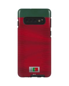 Portugal Soccer Flag Galaxy S10 Pro Case