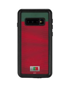 Portugal Soccer Flag Galaxy S10 Waterproof Case