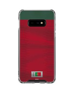 Portugal Soccer Flag Galaxy S10e Clear Case