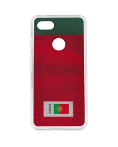 Portugal Soccer Flag Google Pixel 3 XL Clear Case