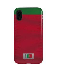 Portugal Soccer Flag iPhone XR Pro Case