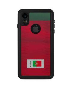 Portugal Soccer Flag iPhone XR Waterproof Case