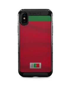 Portugal Soccer Flag iPhone XS Cargo Case