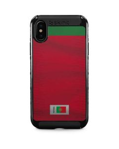 Portugal Soccer Flag iPhone XS Max Cargo Case