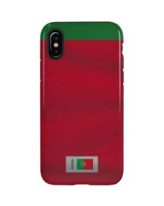 Portugal Soccer Flag iPhone XS Max Pro Case