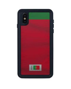 Portugal Soccer Flag iPhone XS Max Waterproof Case