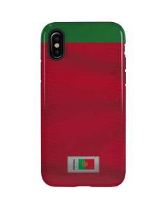 Portugal Soccer Flag iPhone XS Pro Case
