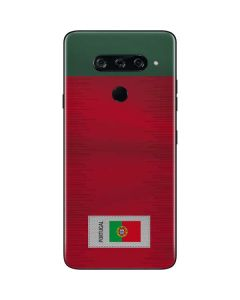 Portugal Soccer Flag LG V40 ThinQ Skin