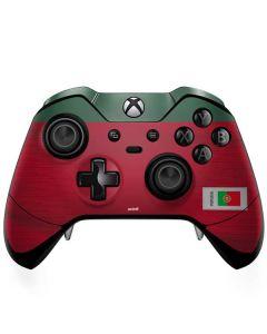 Portugal Soccer Flag Xbox One Elite Controller Skin