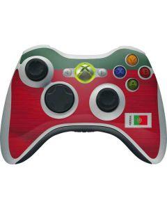 Portugal Soccer Flag Xbox 360 Wireless Controller Skin
