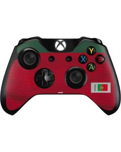 Portugal Soccer Flag Xbox One Controller Skin