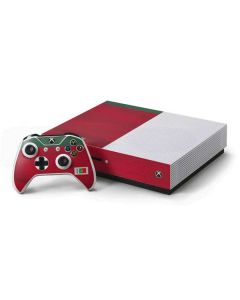 Portugal Soccer Flag Xbox One S Console and Controller Bundle Skin